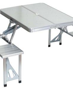 מוצרי קמפינג שולחן מתקפל לפיקניק עם כיסאות