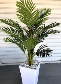 עץ דקל צמחיה מלאכותית