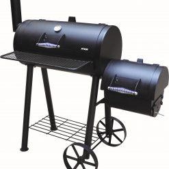 מעשנת פחם משולבת גריל
