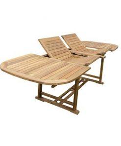 שולחן עץ נפתח 165 225 285