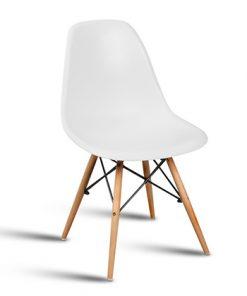 כיסא אורסולה לבן