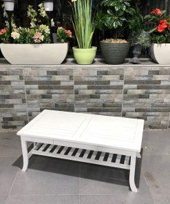 שולחן עץ לבן מעוצב קלאסיקו