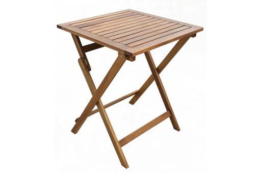 """שולחן עץ Rio מרובע 60 ס""""מ"""
